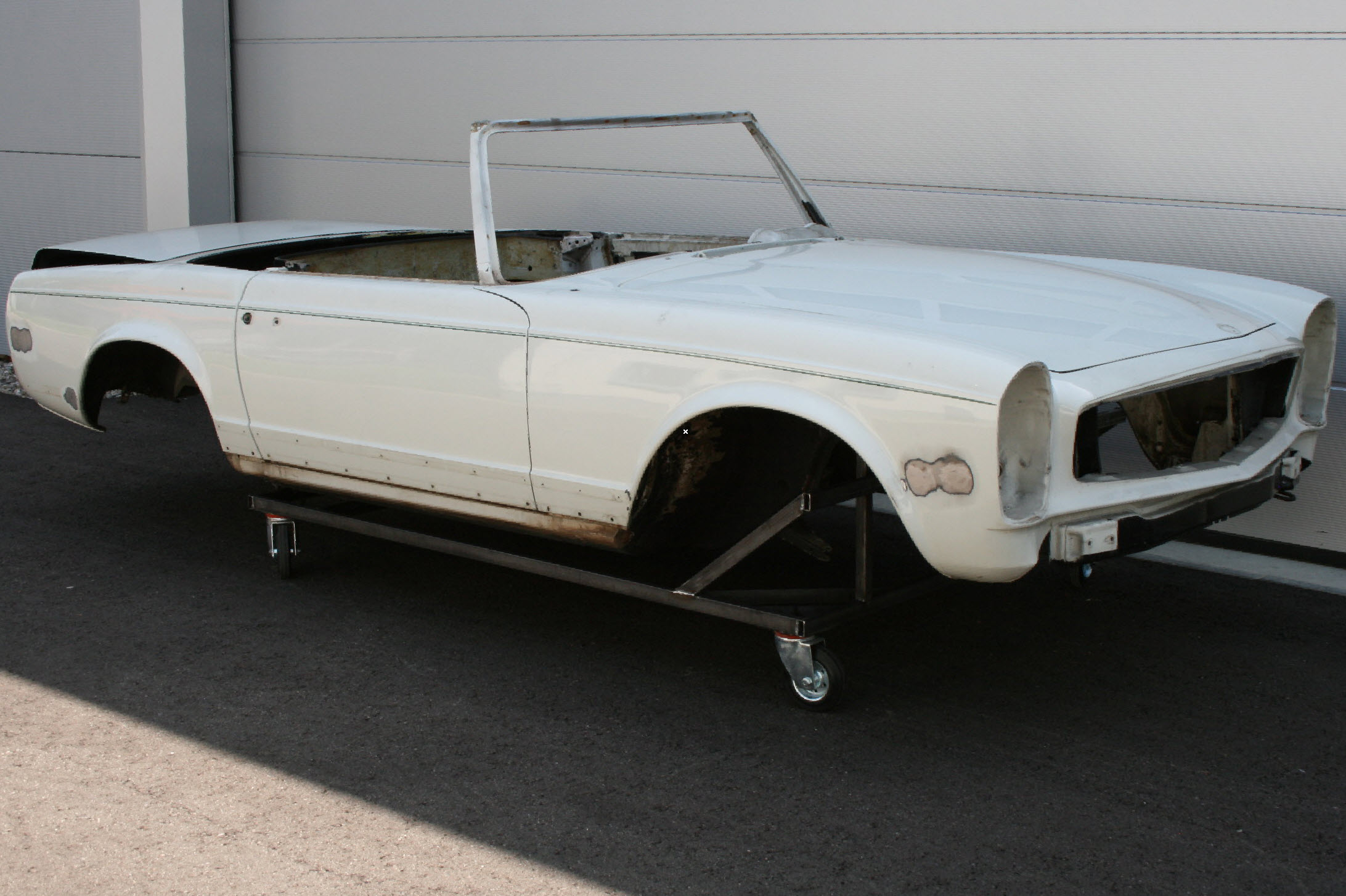 MB 280SL - Restauration 1