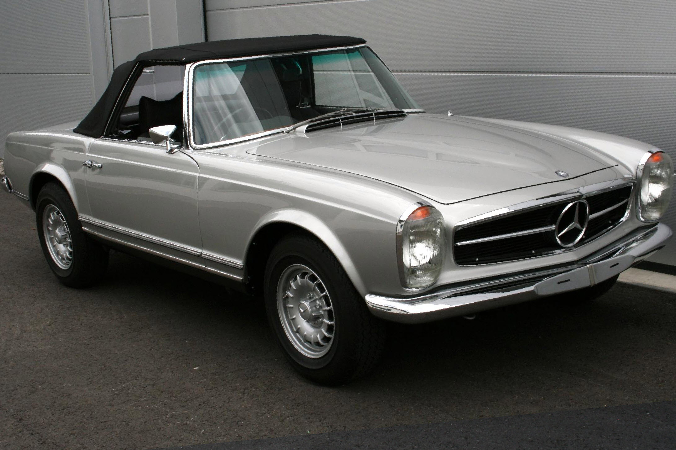 MB 280SL - Restauration 2